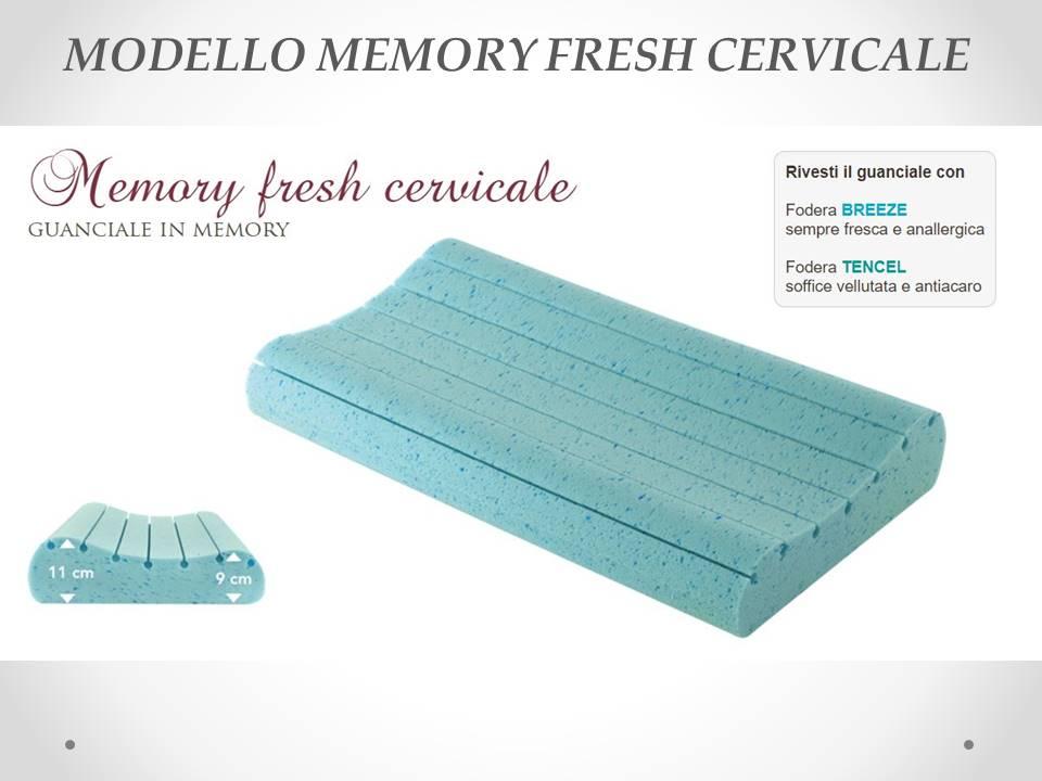 Guanciale Memory fresh cervicale Sogno Veneto