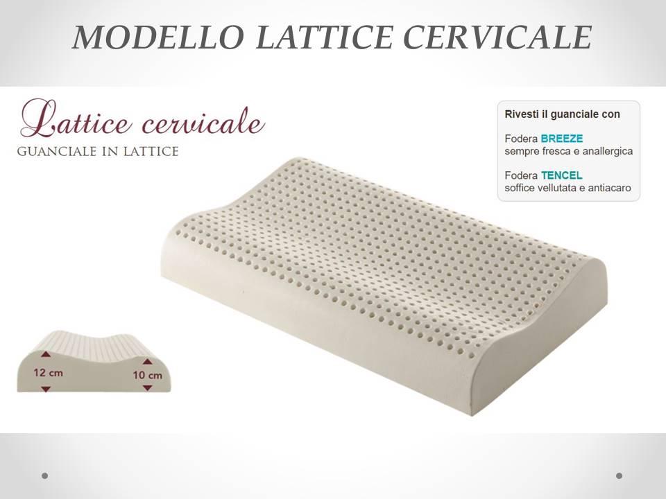 guanciale lattice cervicale Sogno Veneto