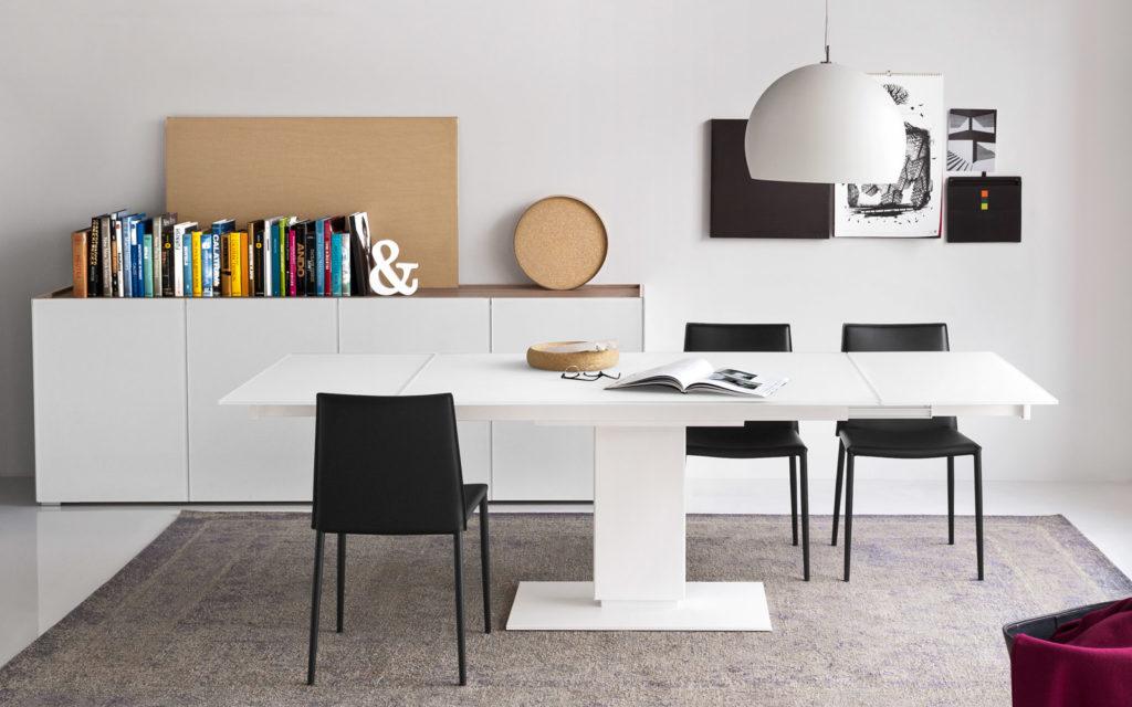 Tutta la nuova collezione di tavoli calligaris 2017 da domus arredi lissone - Tavolo quadrato allungabile calligaris ...