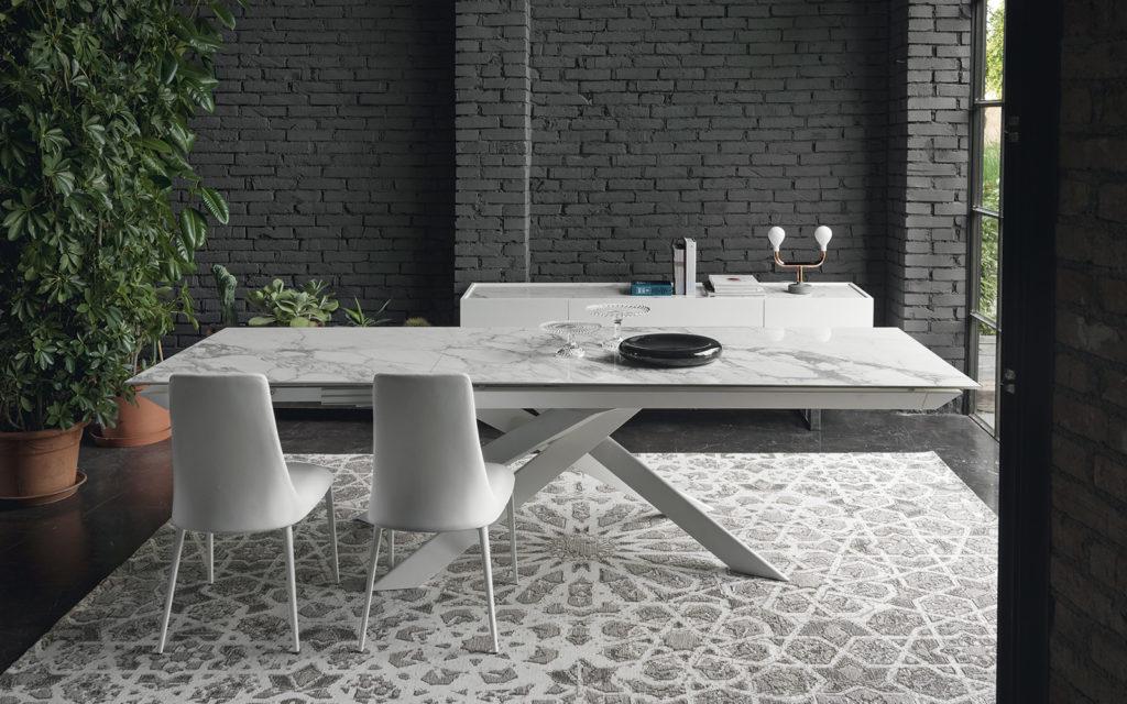 Tutta la nuova collezione di tavoli calligaris 2017 da for Tavolo cemento calligaris