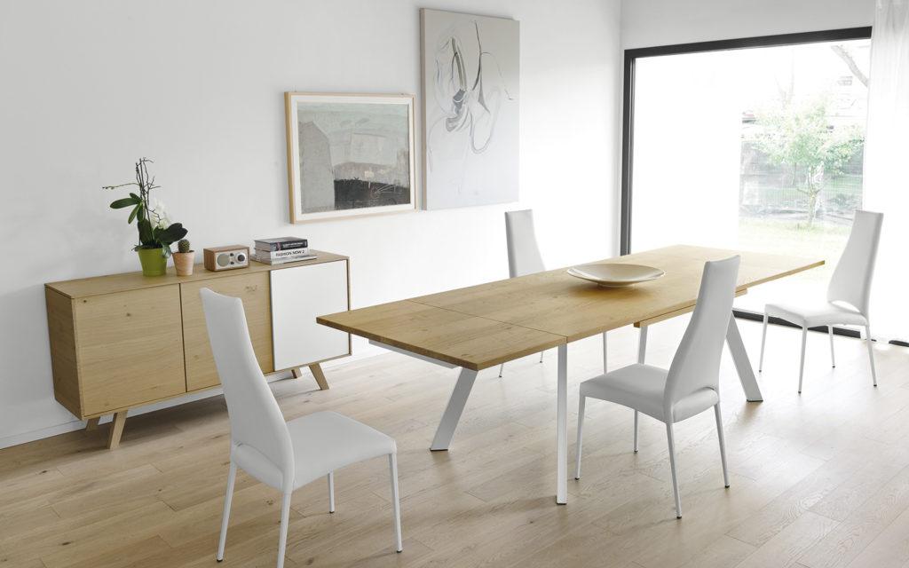 Tutta la nuova collezione di tavoli calligaris 2017 da for Tavolo acacia calligaris