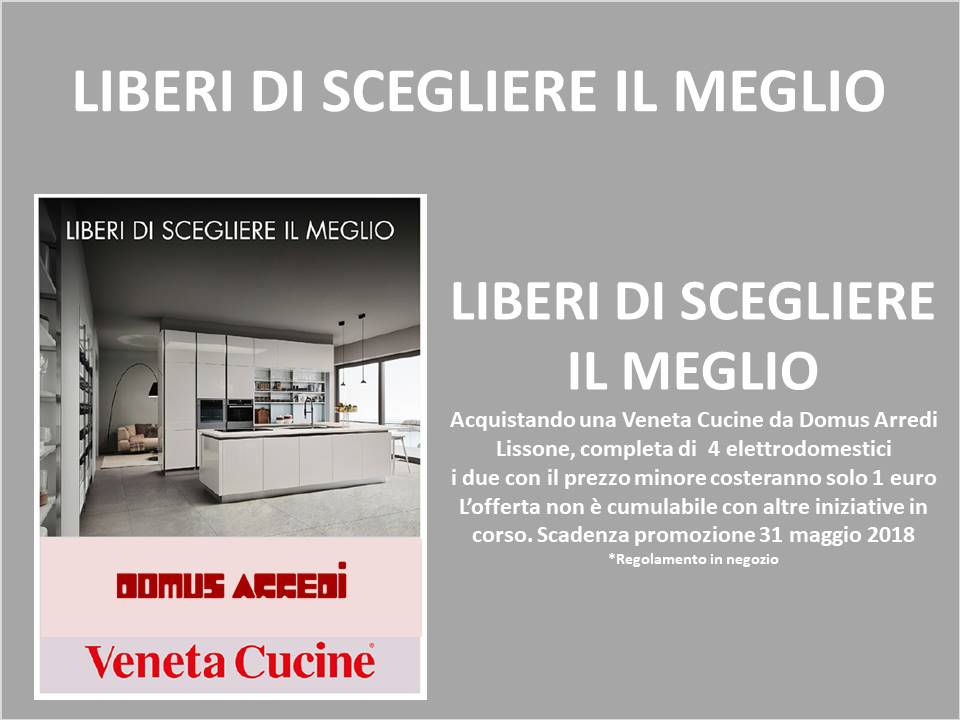 Veneta cucine start time j visionabile da domus arredi lissone for Domus arredi lissone