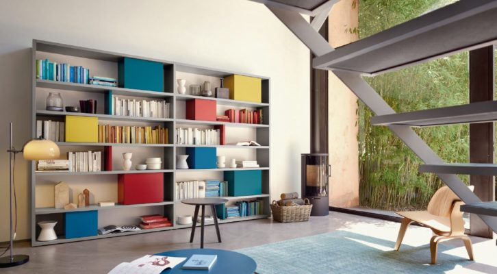 Librerie Colorate e componibile