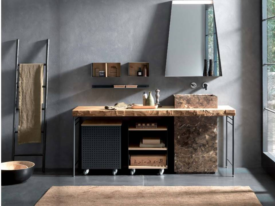 bagno industial style