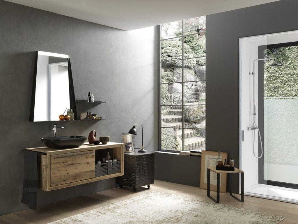 Da Domus Arredi a Lissone trovate tutta la linea di bagni in Industrial Style!