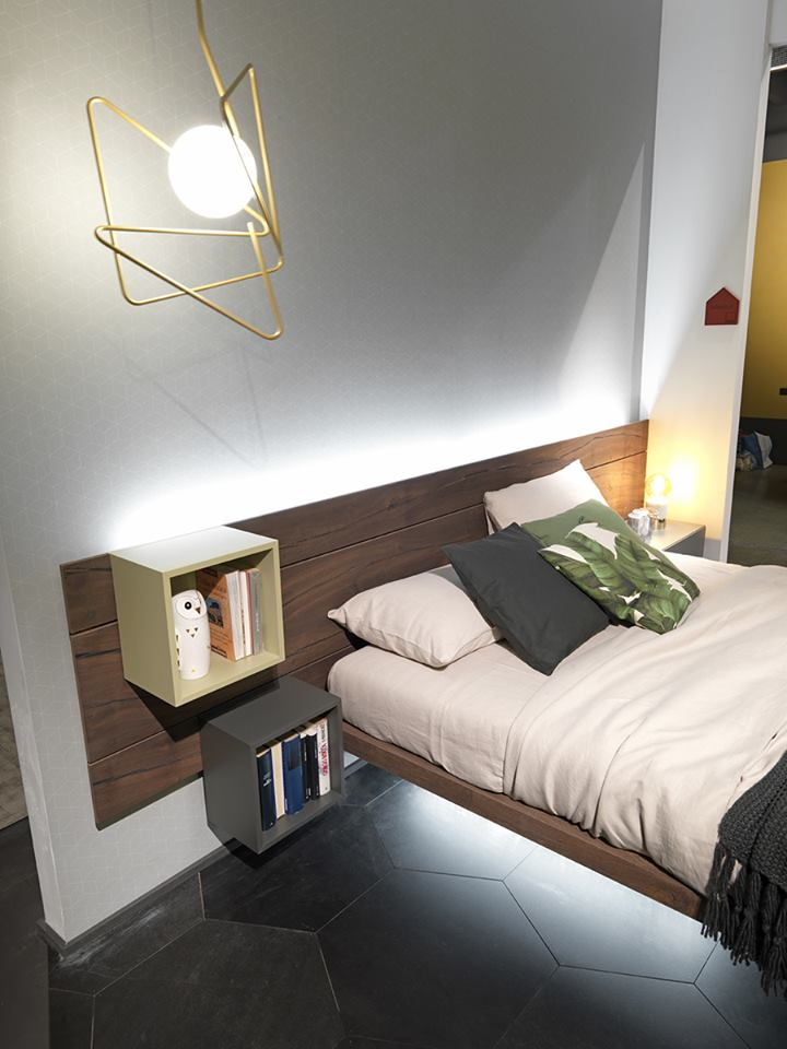 Letto sorvolo fimar il letto leggero con grande spazio - Letto sospeso prezzi ...