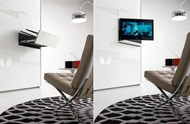 armadio con tv