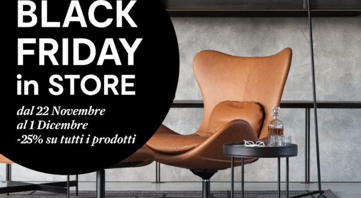 Black Friday 2018 Calligaris e Domus Arredi Lissone