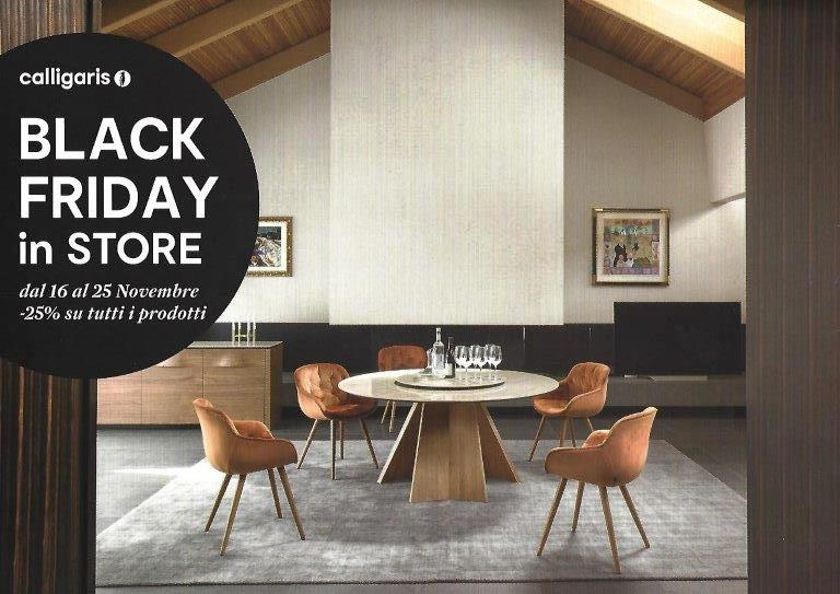 Black friday 2018 calligaris e domus arredi lissone for Domus arredi lissone