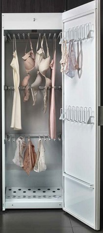 """L'armadio asciugatrice ideale per tutti gli indumenti che """"soffrono"""" nell'asciugatrice."""