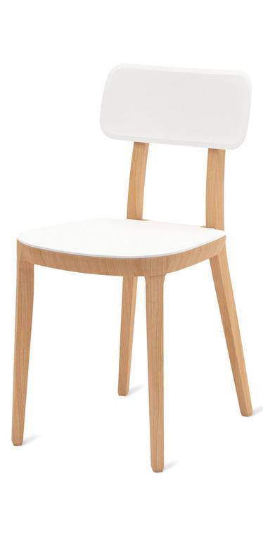 sedia bianca da cucina produzione veneta cucine