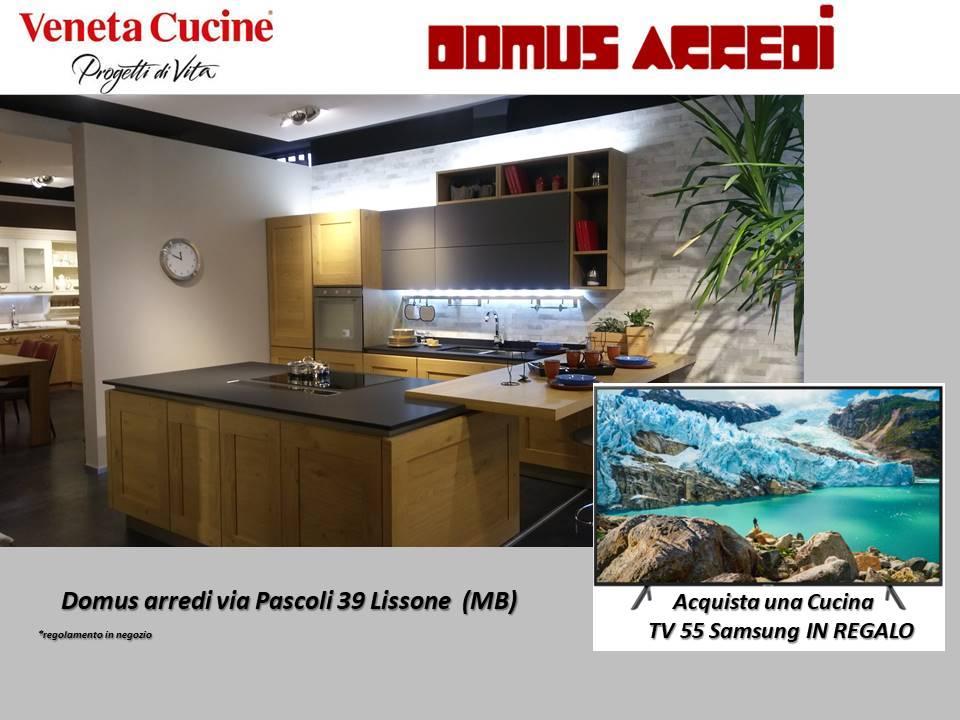 PROMO VENETA CUCINE 2019 : da Domus arredi Lissone compresa nel prezzo una TV 55 pollici Samsung