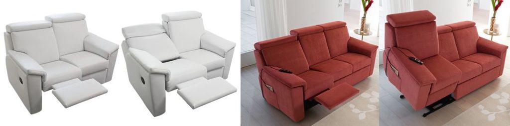 divano con alzapersone