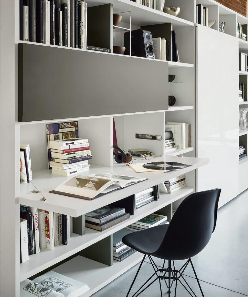 scrivania a scomparsa da soggiorno